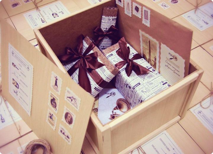 разработка и изготовление корпоративных подарков
