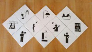 Печать изображений на керамической плитке