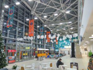 оформление терминала аэропорта