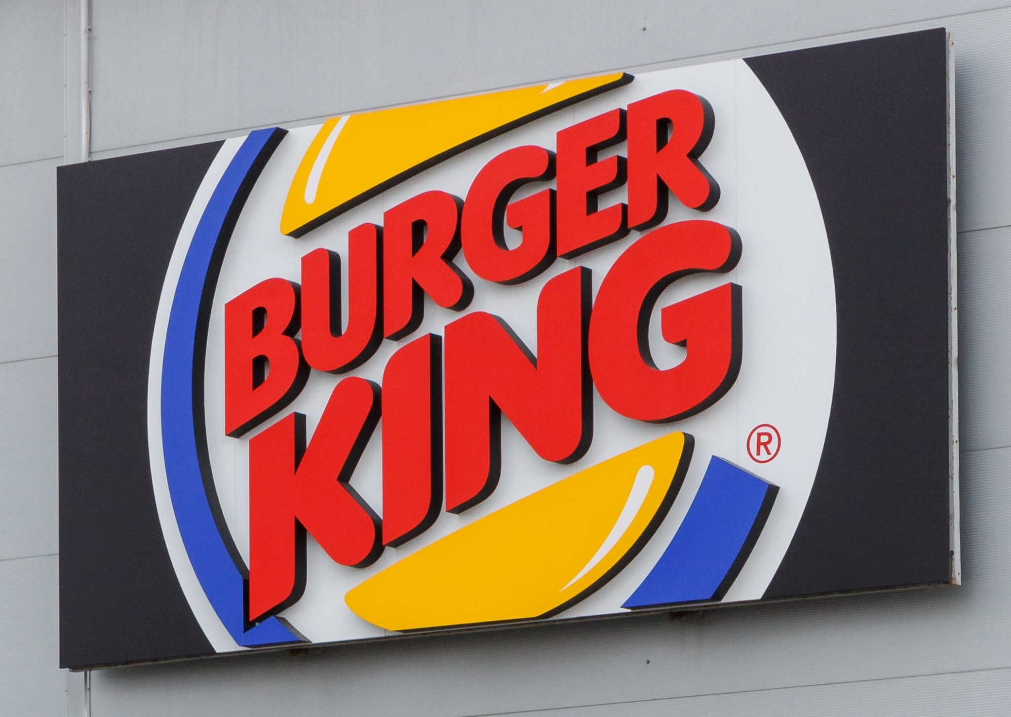 Фасадная вывеска Burger King