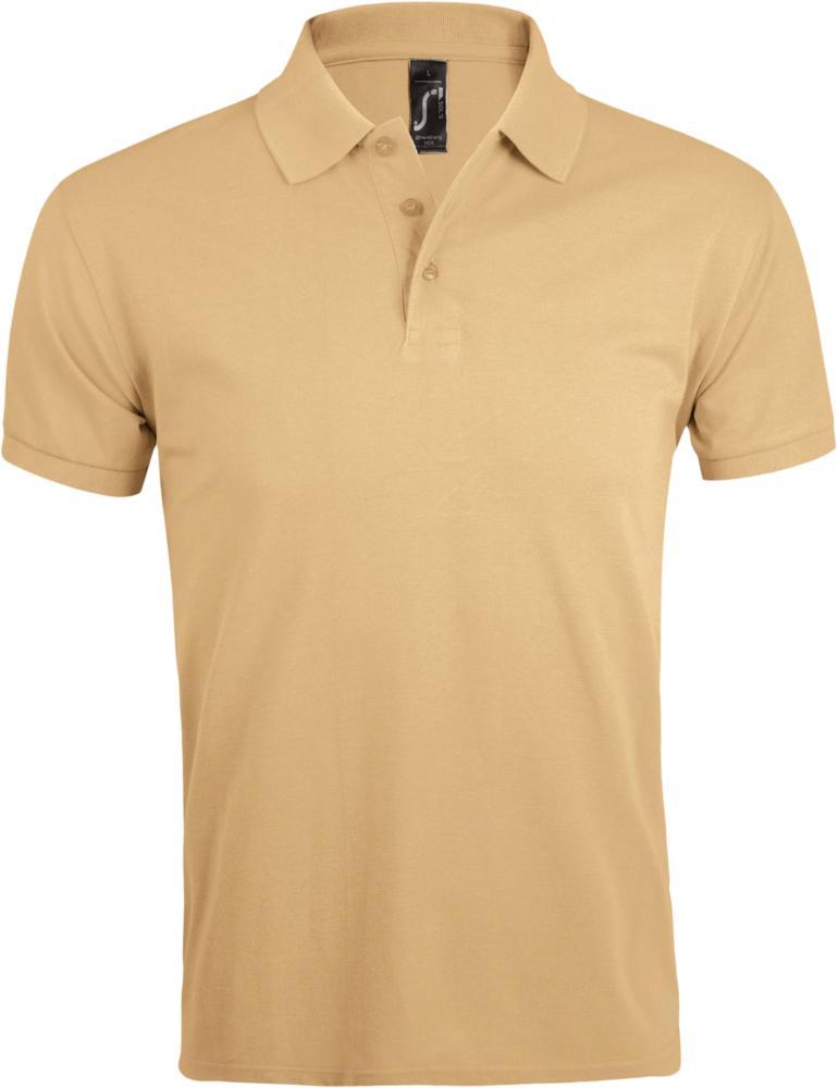 Рубашка-поло PRIME MEN бежевая
