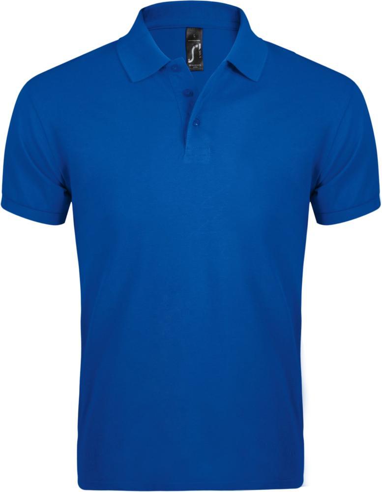 Рубашка поло мужская PRIME MEN 200 ярко-синяя