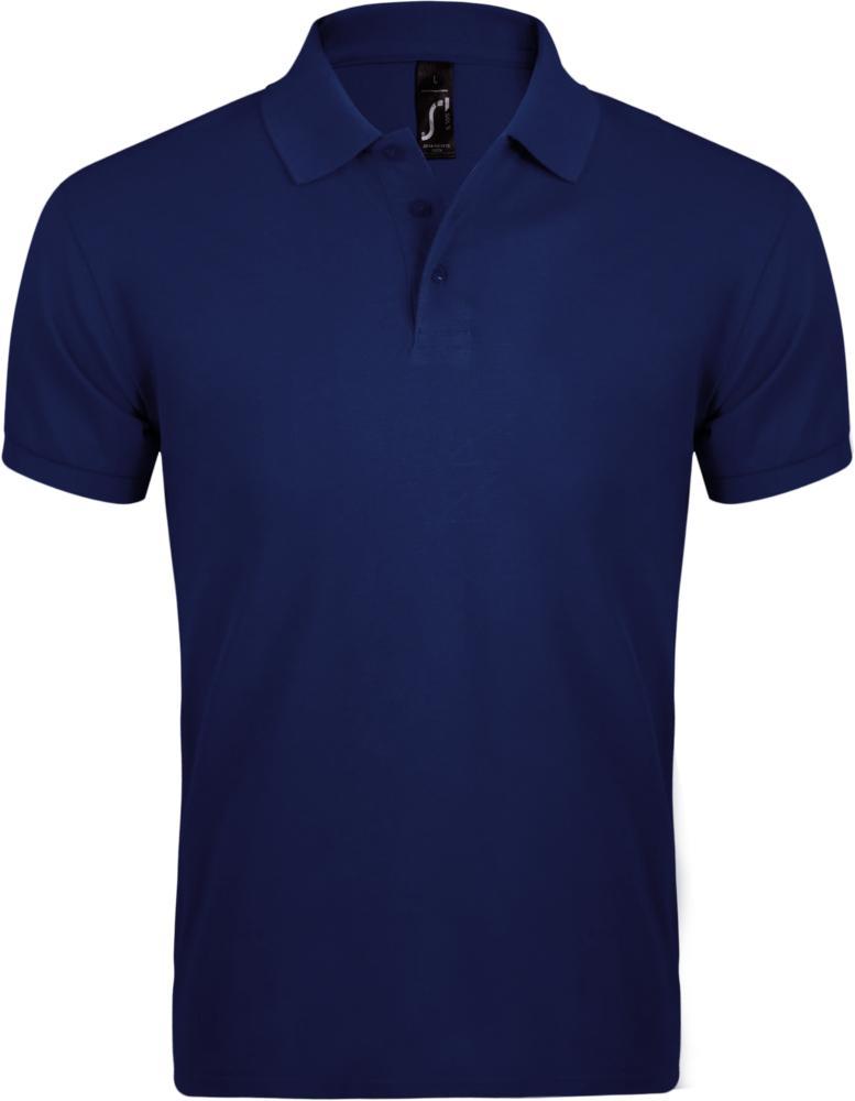 Рубашка поло мужская PRIME MEN 200 темно-синяя