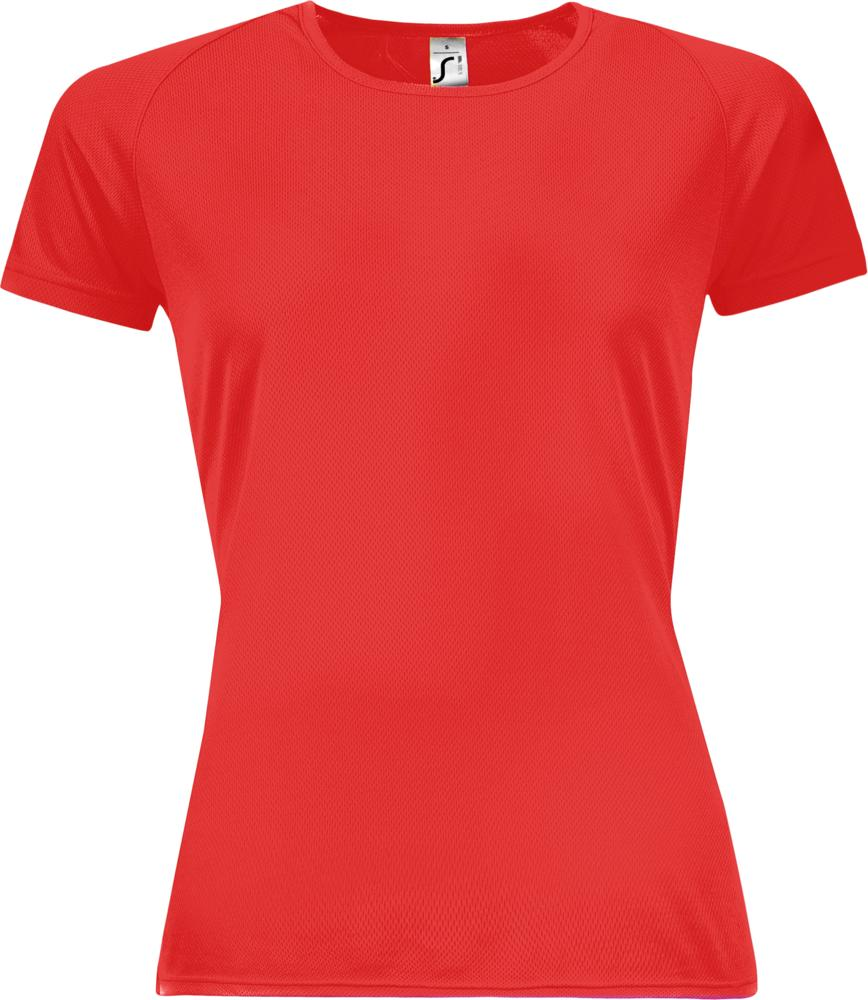Футболка женская SPORTY WOMEN 140, красная