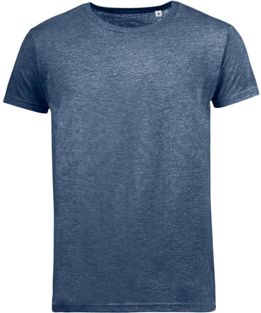 Футболка мужская MIXED MEN темно-синий меланж