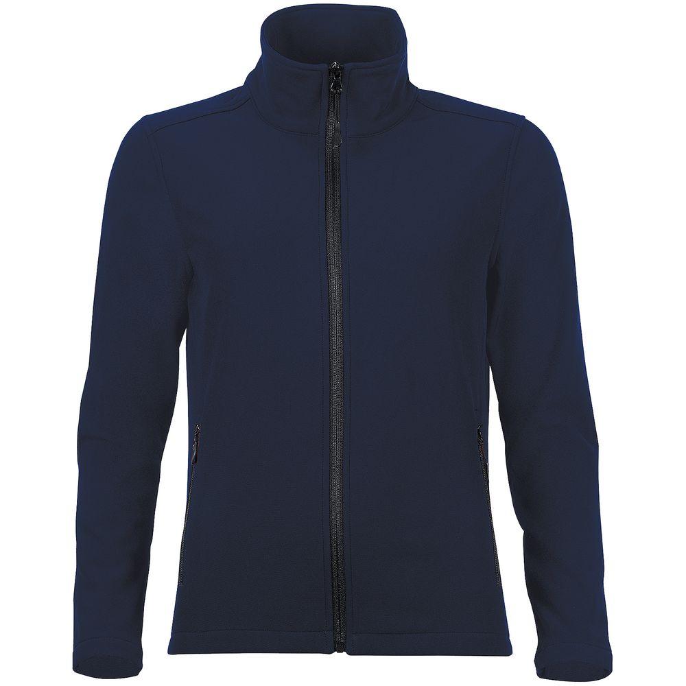 Куртка софтшелл женская RACE WOMEN темно-синяя
