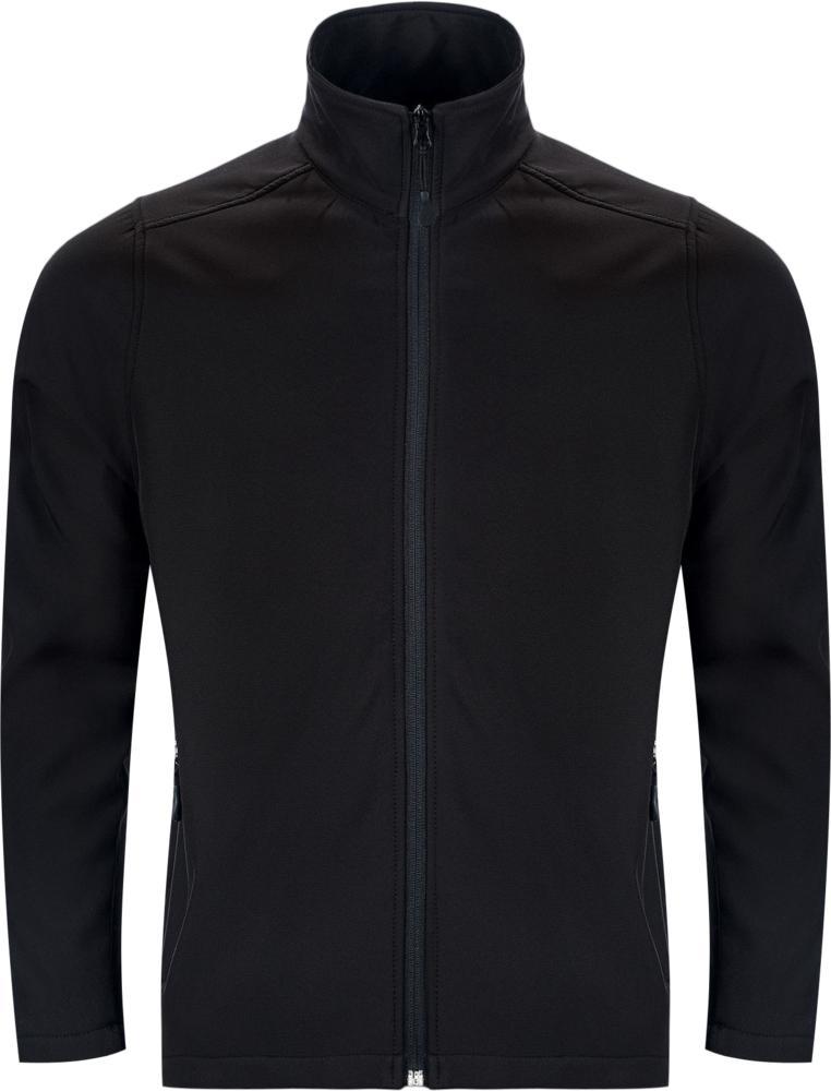 Куртка софтшелл мужская RACE MEN, черная
