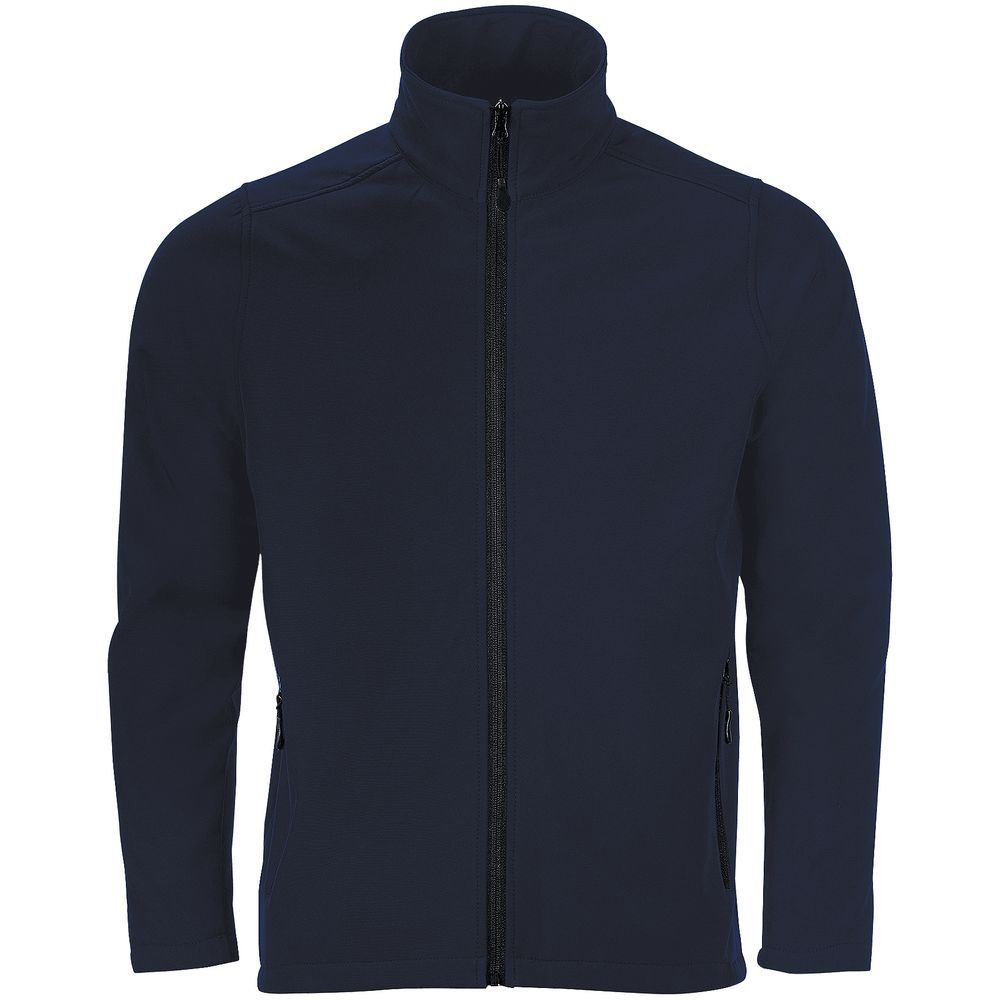 Куртка софтшелл мужская RACE MEN, темно-синяя