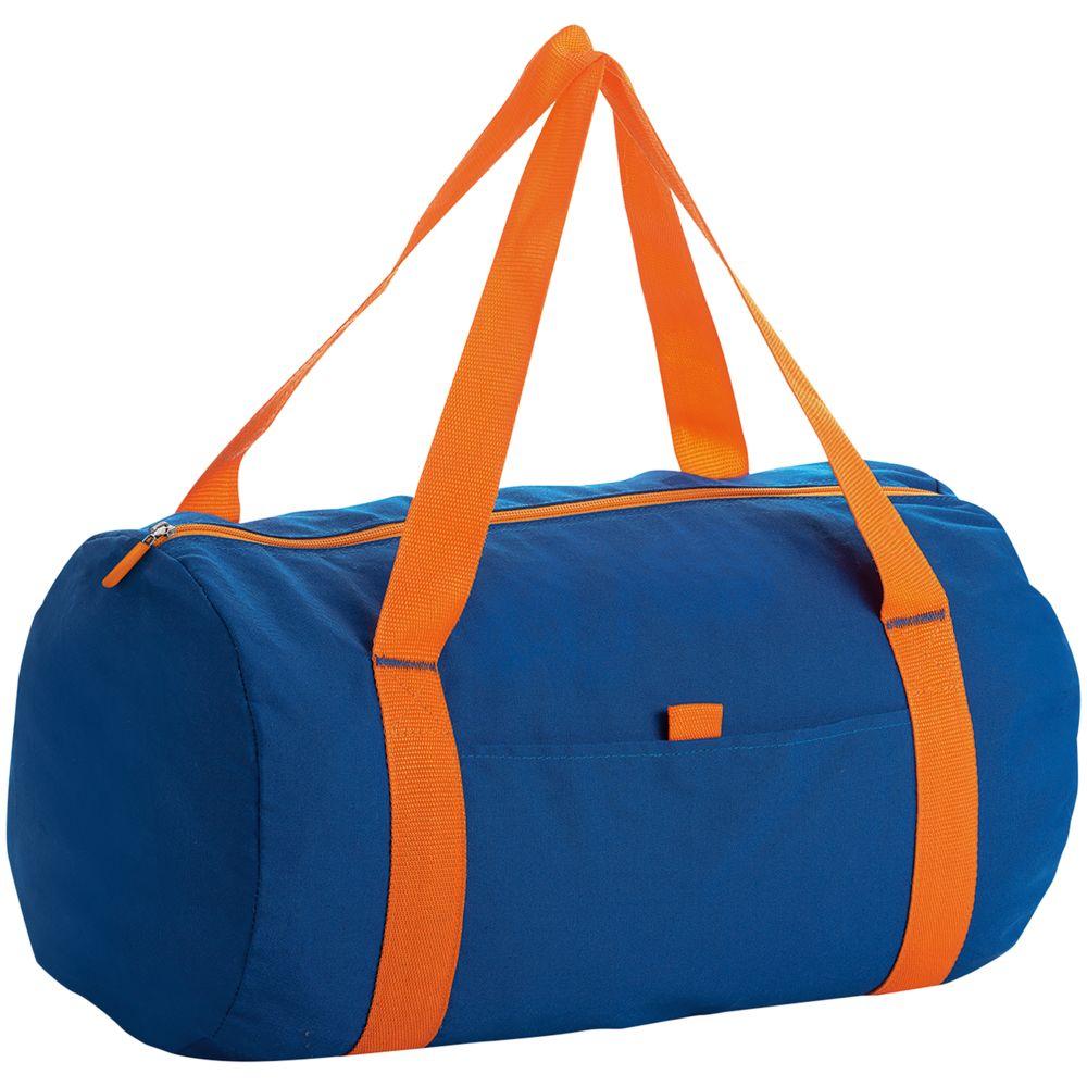 Сумка Tribeca, синяя с оранжевым