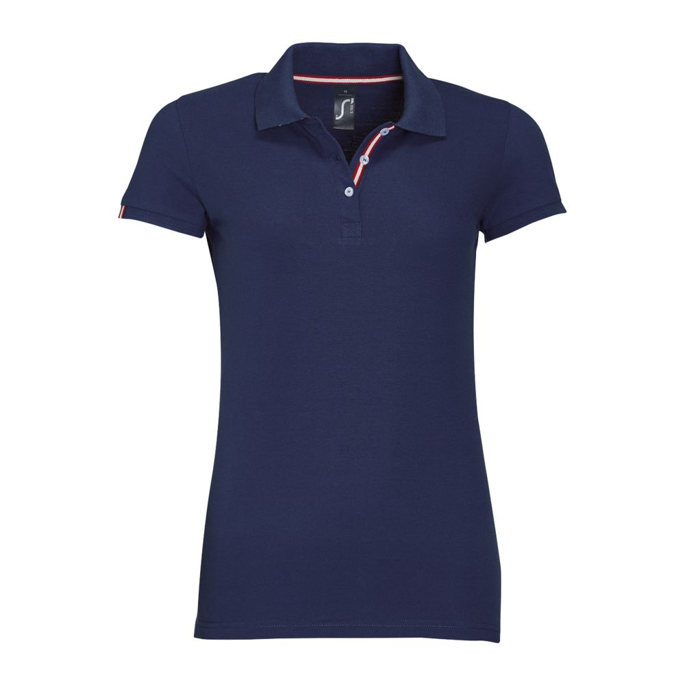 Рубашка поло PATRIOT WOMEN, темно-синяя