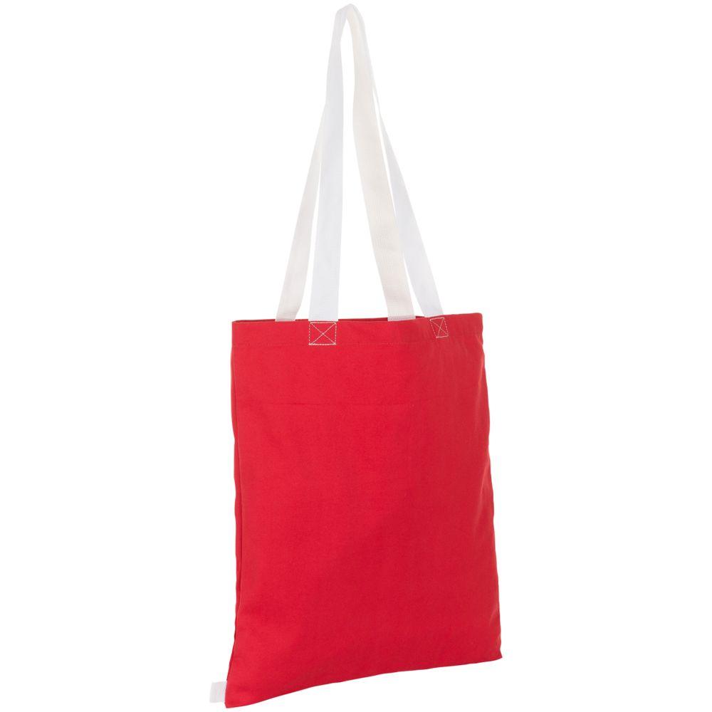Сумка для покупок Hamilton, красная с белым