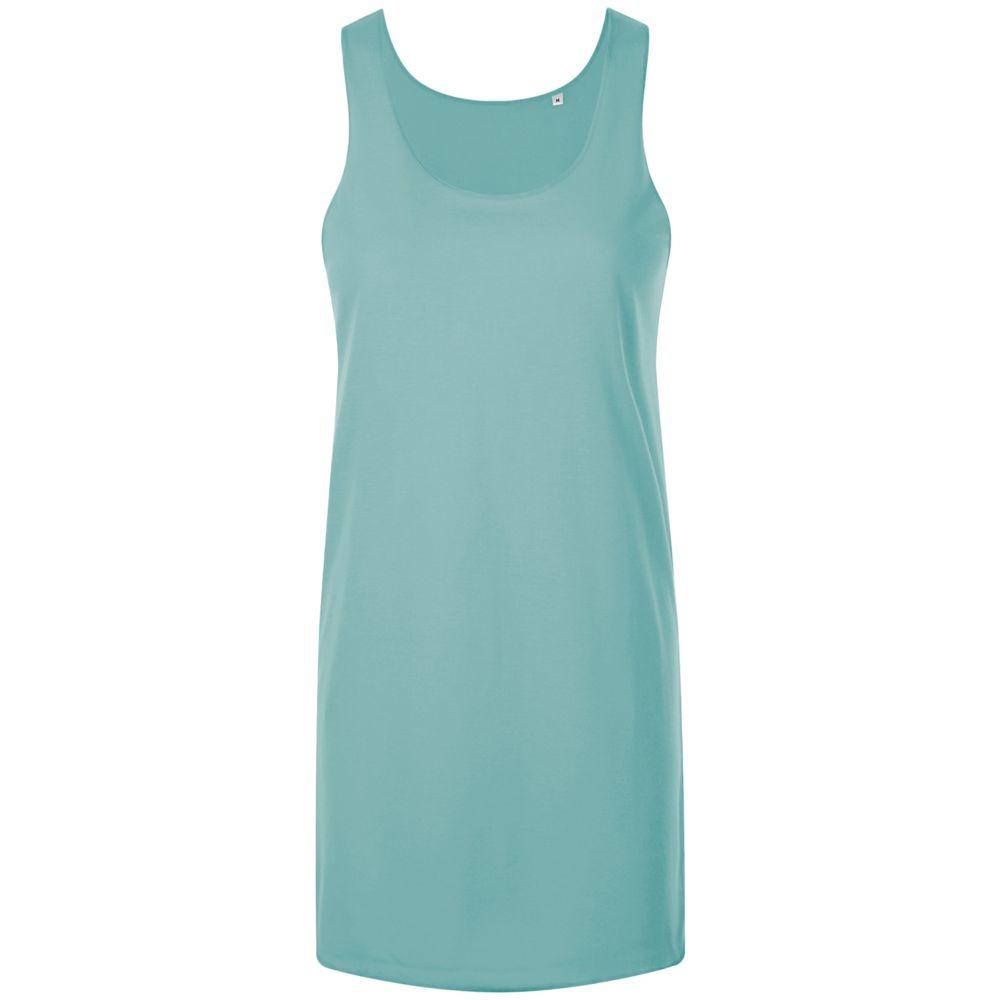 Платье-футболка COCKTAIL, бирюзовое