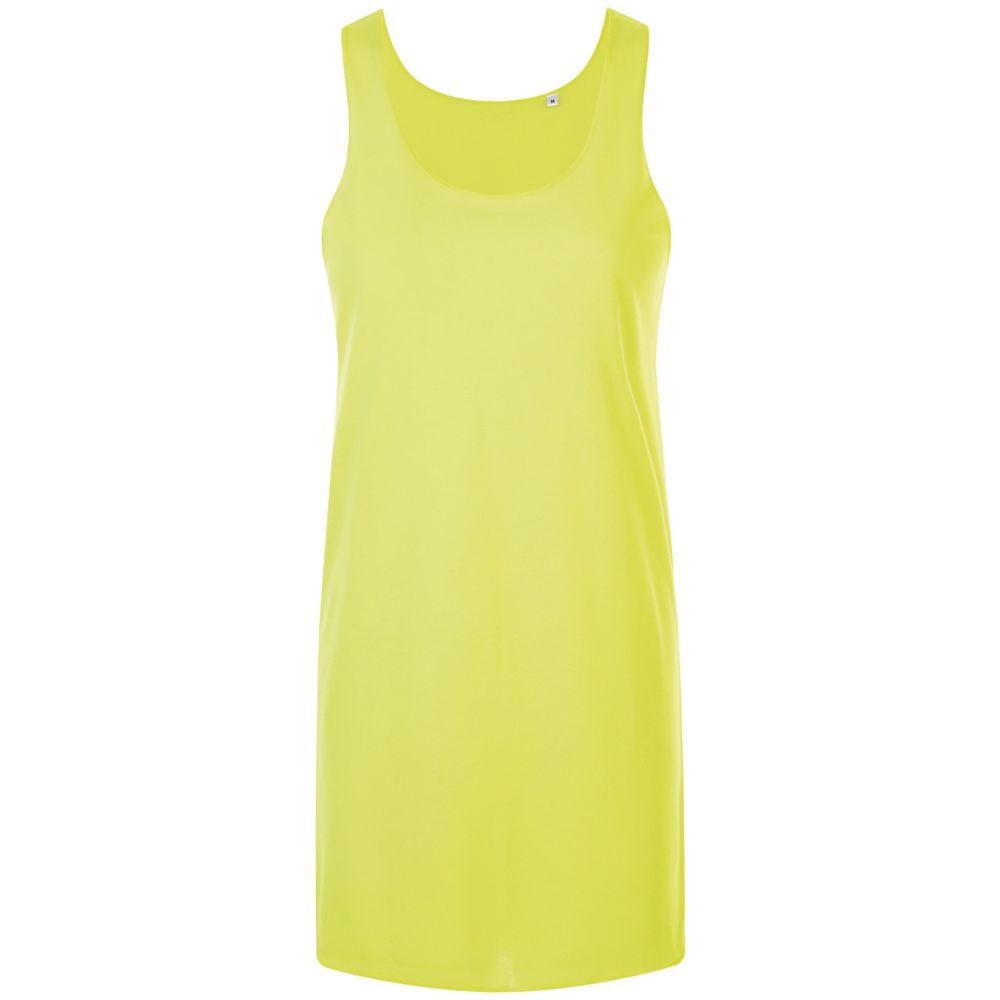 Платье-футболка COCKTAIL, желтый неон