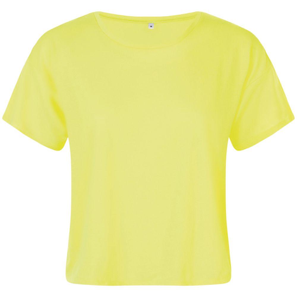 Футболка укороченная женская MAEVA, желтый неон