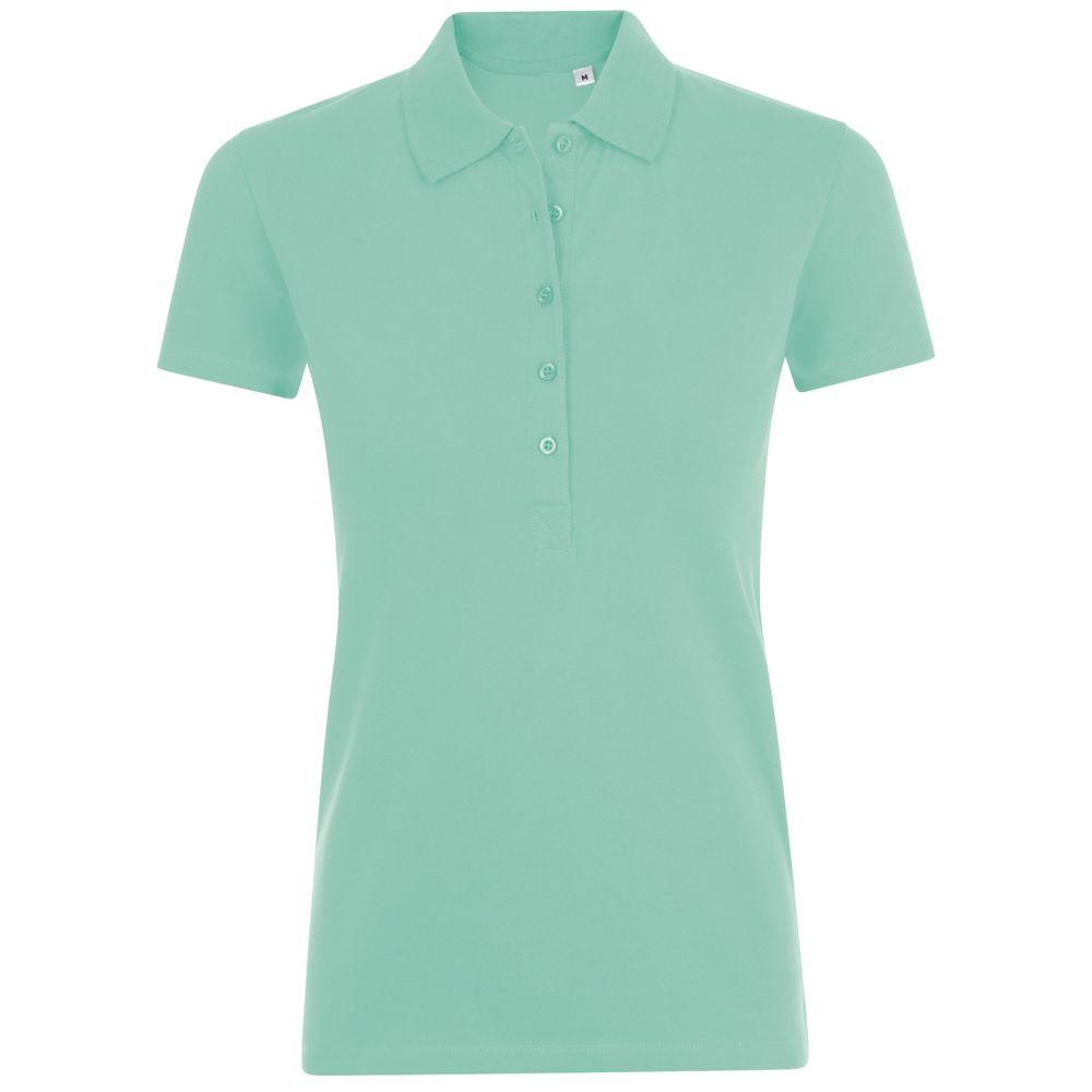 Рубашка поло женская PHOENIX WOMEN, зеленая мята
