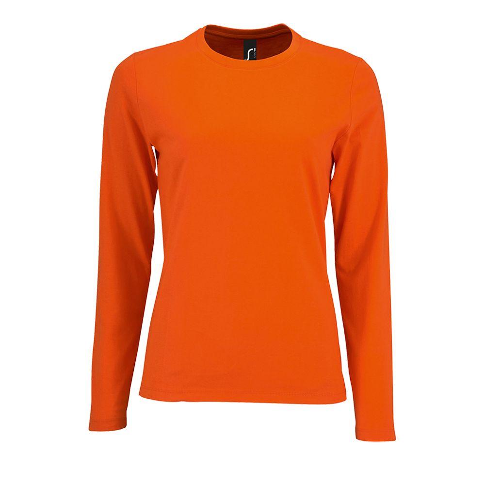 Футболка с длинным рукавом IMPERIAL LSL WOMEN, оранжевая
