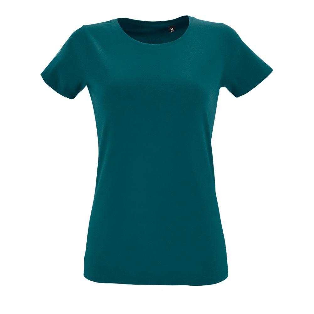 Футболка женская REGENT FIT WOMEN, винтажный синий