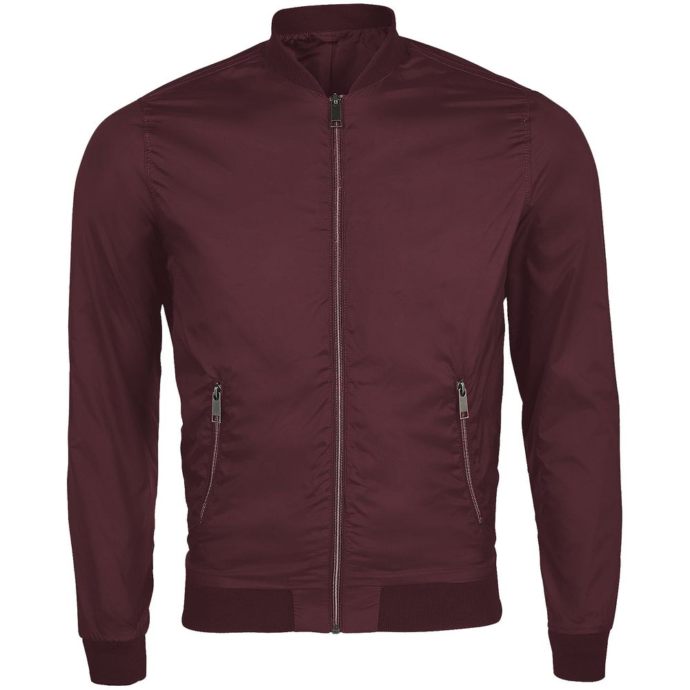 Куртка унисекс Roscoe, бордовая