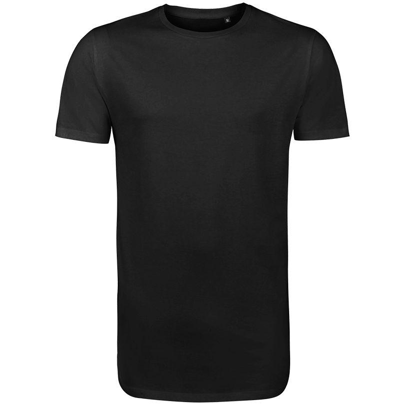 Футболка мужская удлиненная Magnum Men, черная