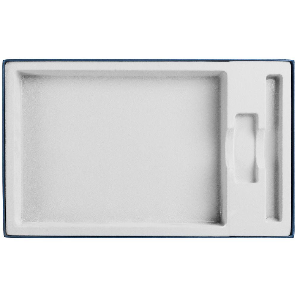 Коробка In Form под ежедневник, флешку, ручку, синяя