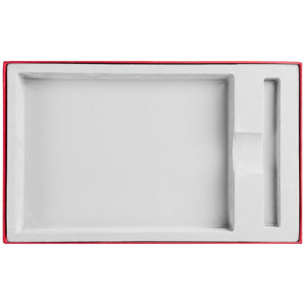 Коробка Adviser под ежедневник, ручку, красная