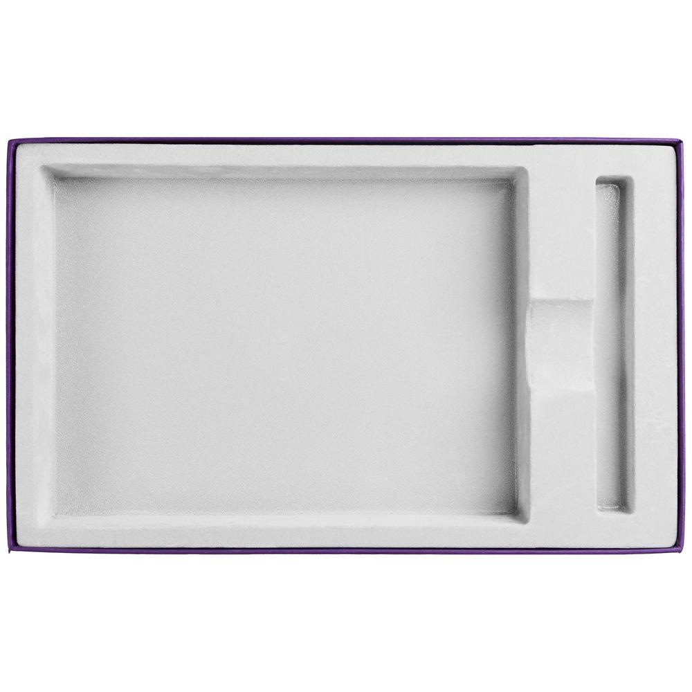 Коробка Adviser под ежедневник, ручку, фиолетовая