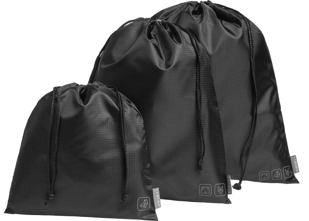 Дорожный набор сумок Stora, черный