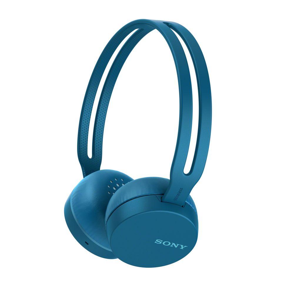 Беспроводные наушники Sony СН400, синие