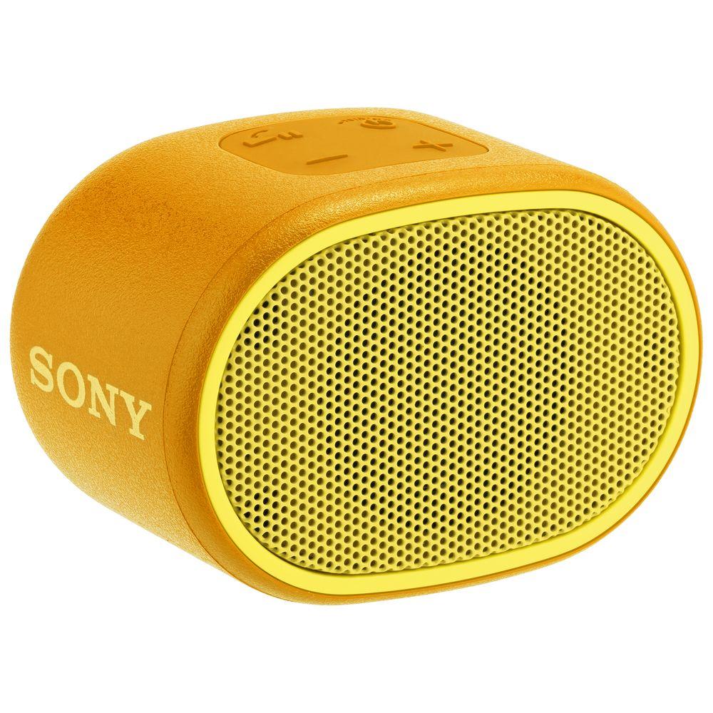 Беспроводная колонка Sony SRS-01, желтая