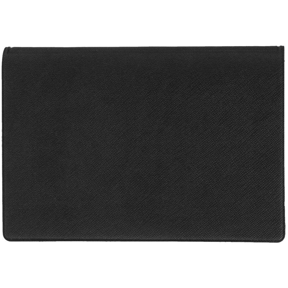 Футляр для карточек и визиток Devon, черный