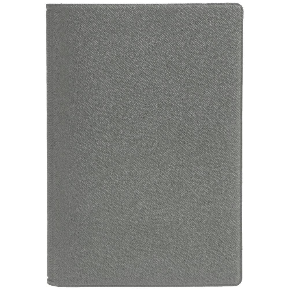 Обложка для паспорта Devon, светло серая