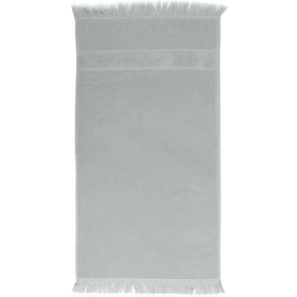 Полотенце Essential с бахромой, серое