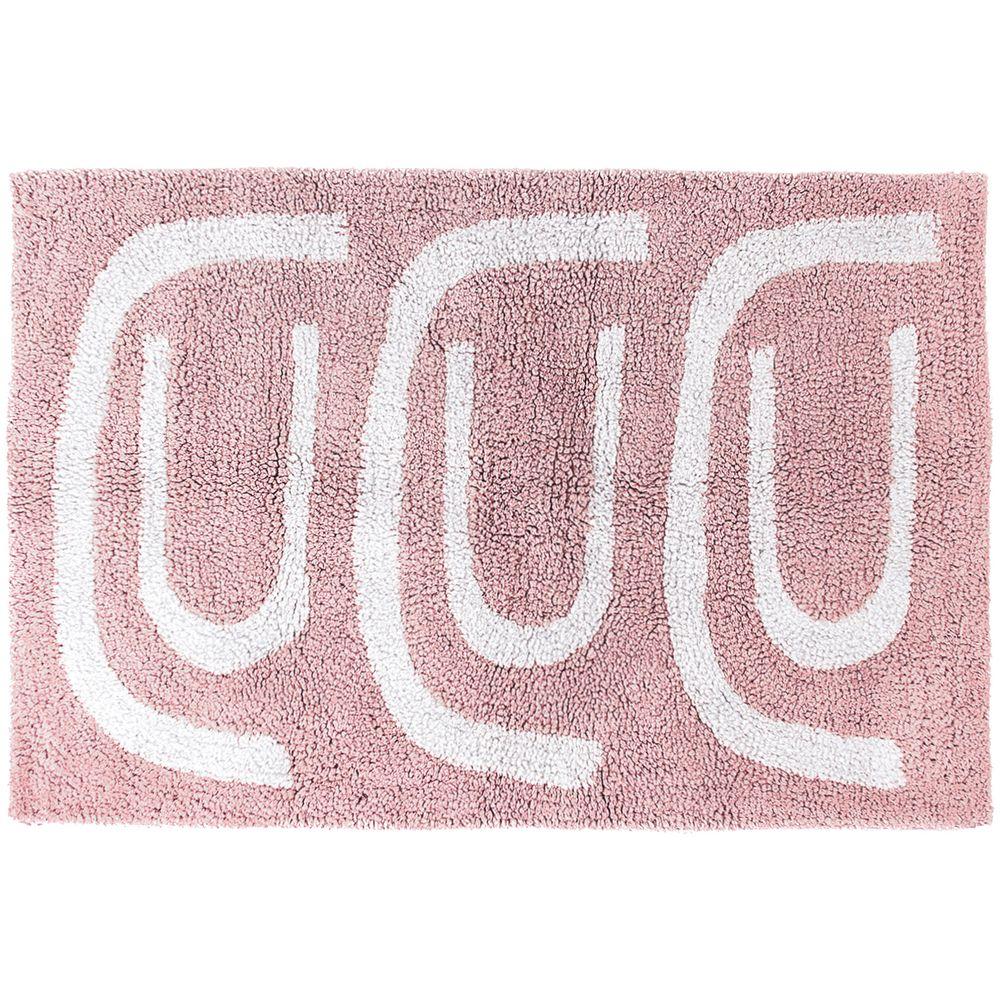 Коврик для ванной Go Round, розовый