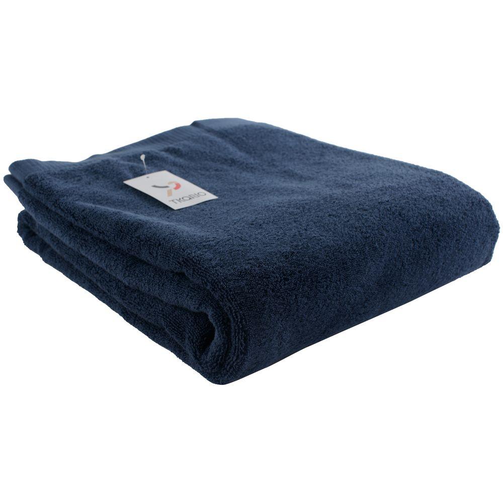 Полотенце Essential, большое, темно-синее