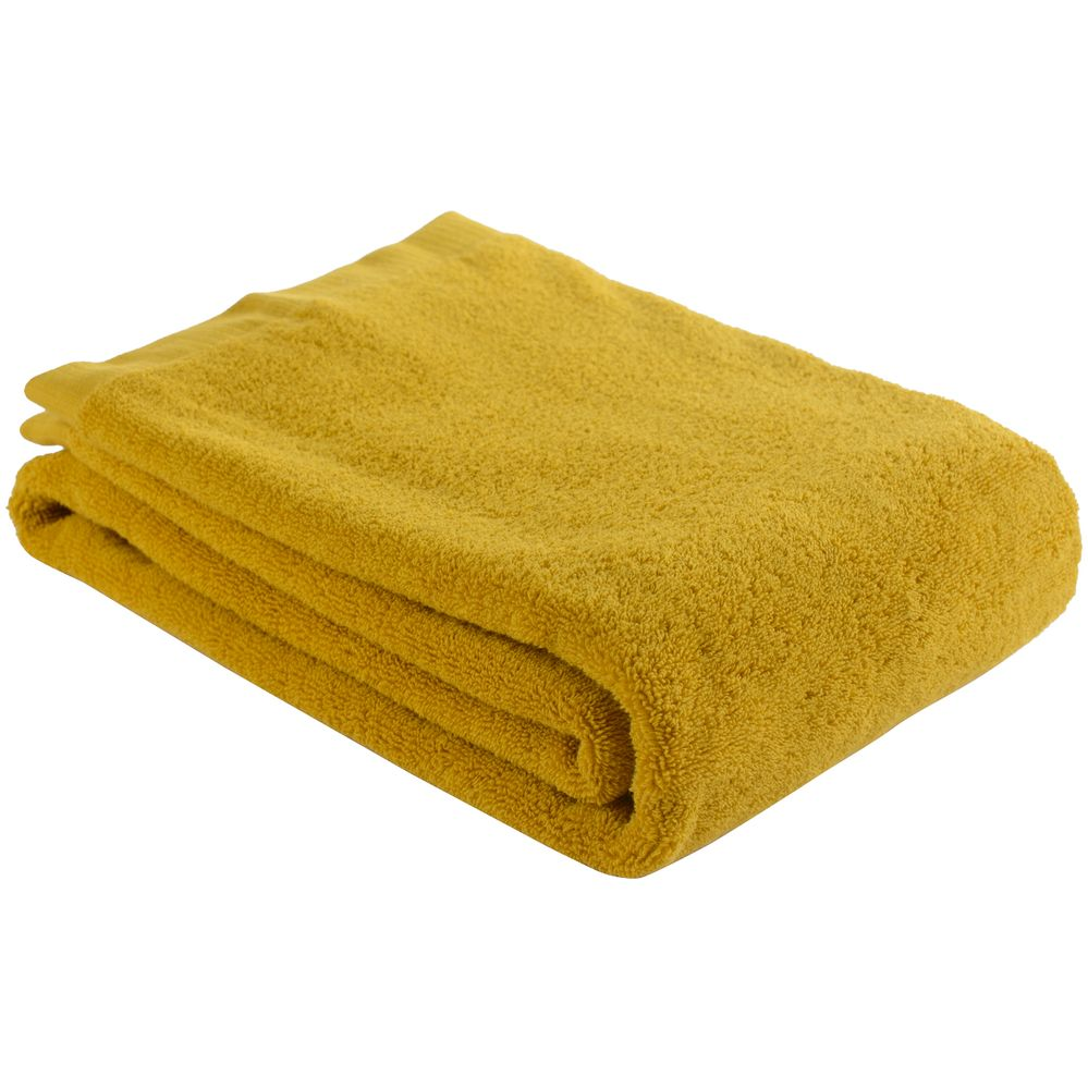 Полотенце Essential, среднее, горчичное