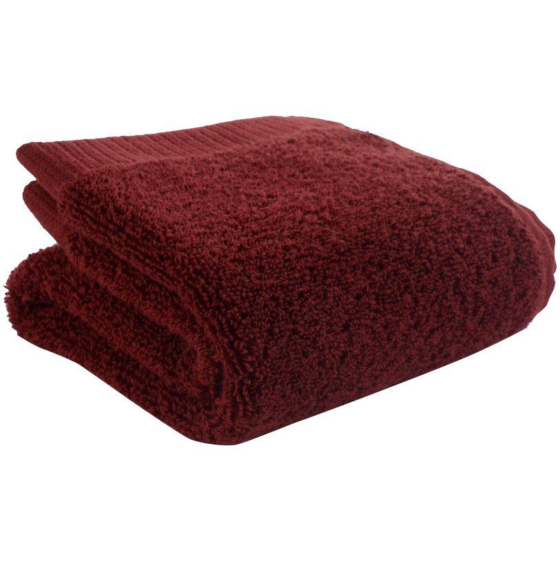 Полотенце Essential, малое, бордовое