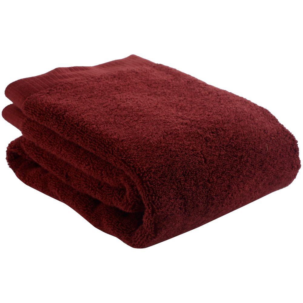 Полотенце для рук Essential, бордовое