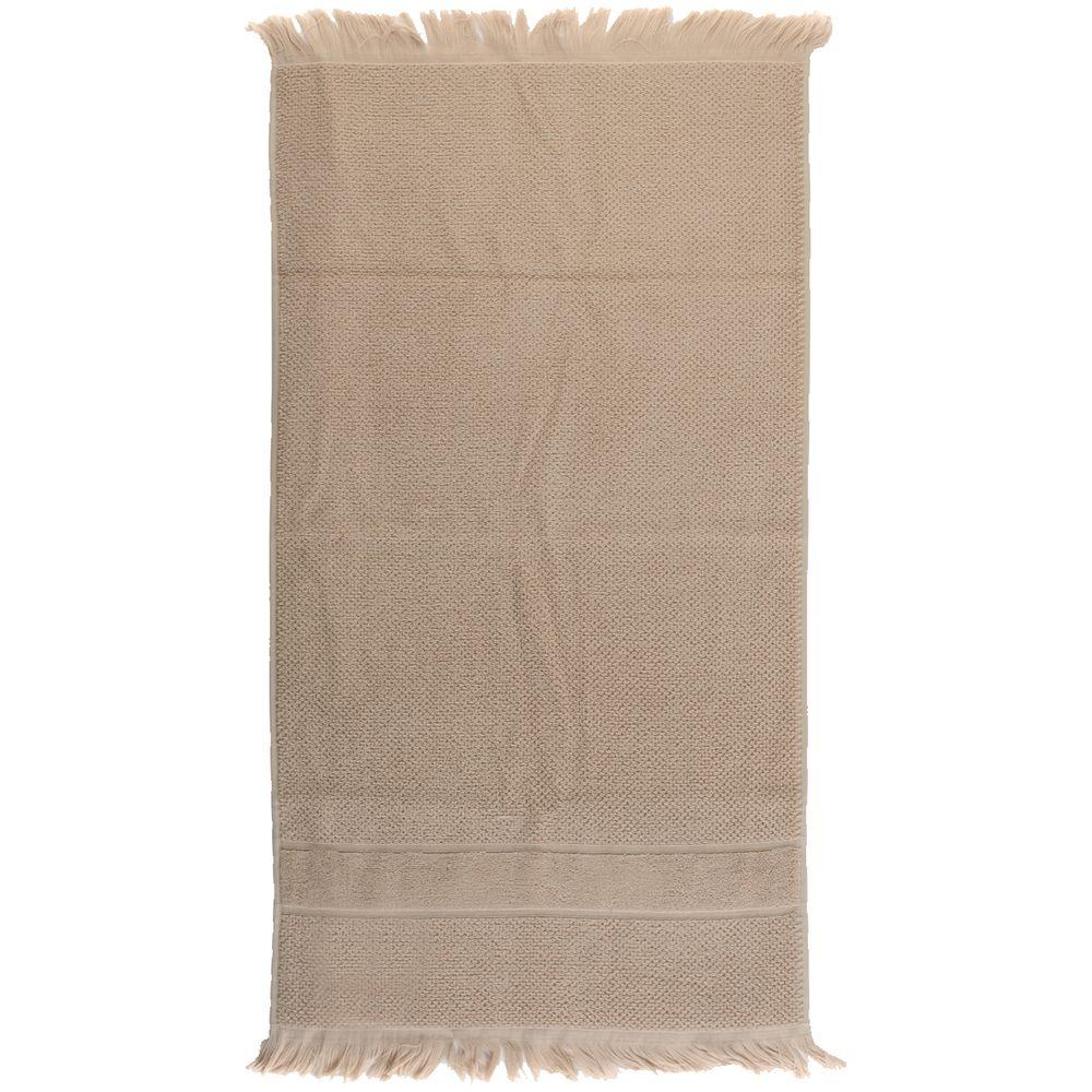 Полотенце для рук Essential с бахромой, бежевое