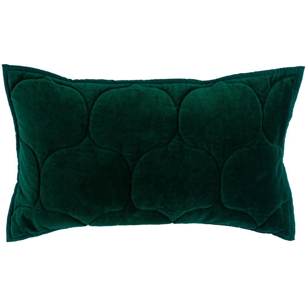 Чехол на подушку «Хвойное утро», прямоугольный, зеленый