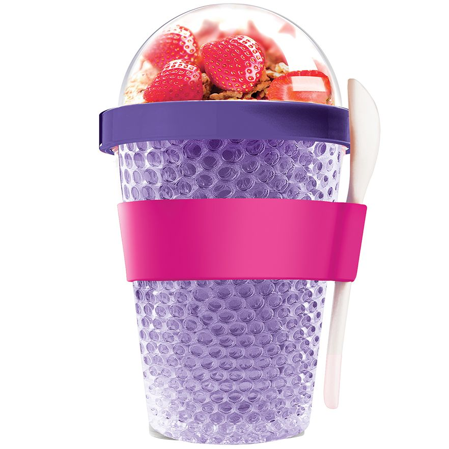 Охлаждающий контейнер Chill Yo 2 Go, фиолетовый