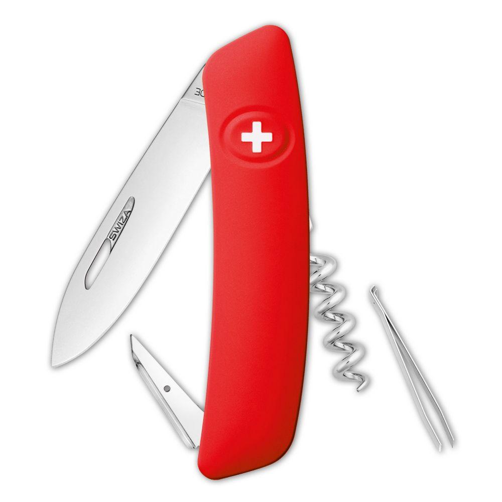 Швейцарский нож D01, красный