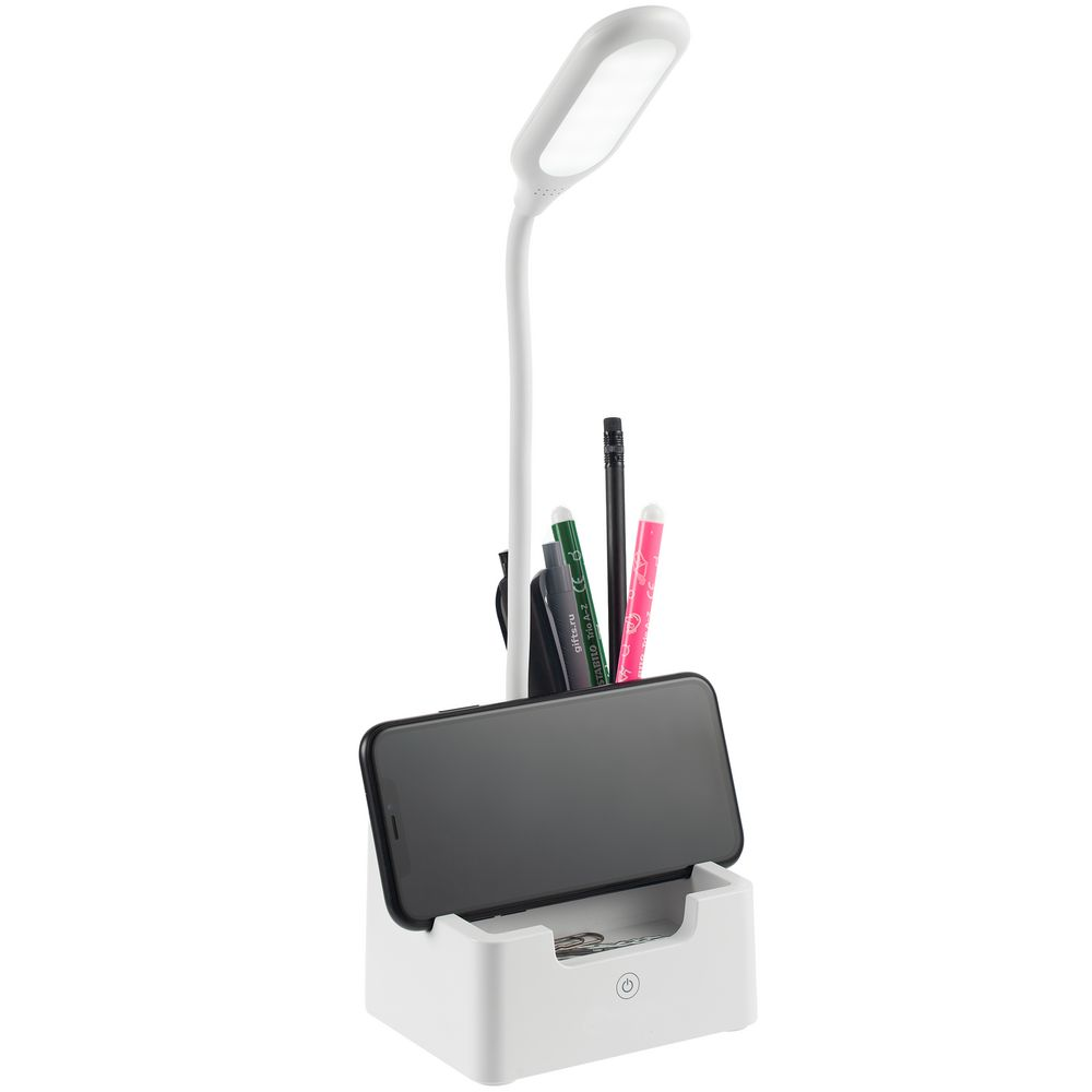 Настольная лампа с подставкой для ручек tidyFlex, белая