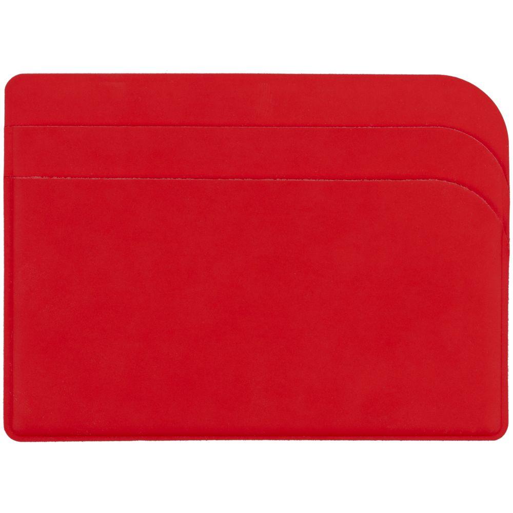 Чехол для карточек Dorset, красный