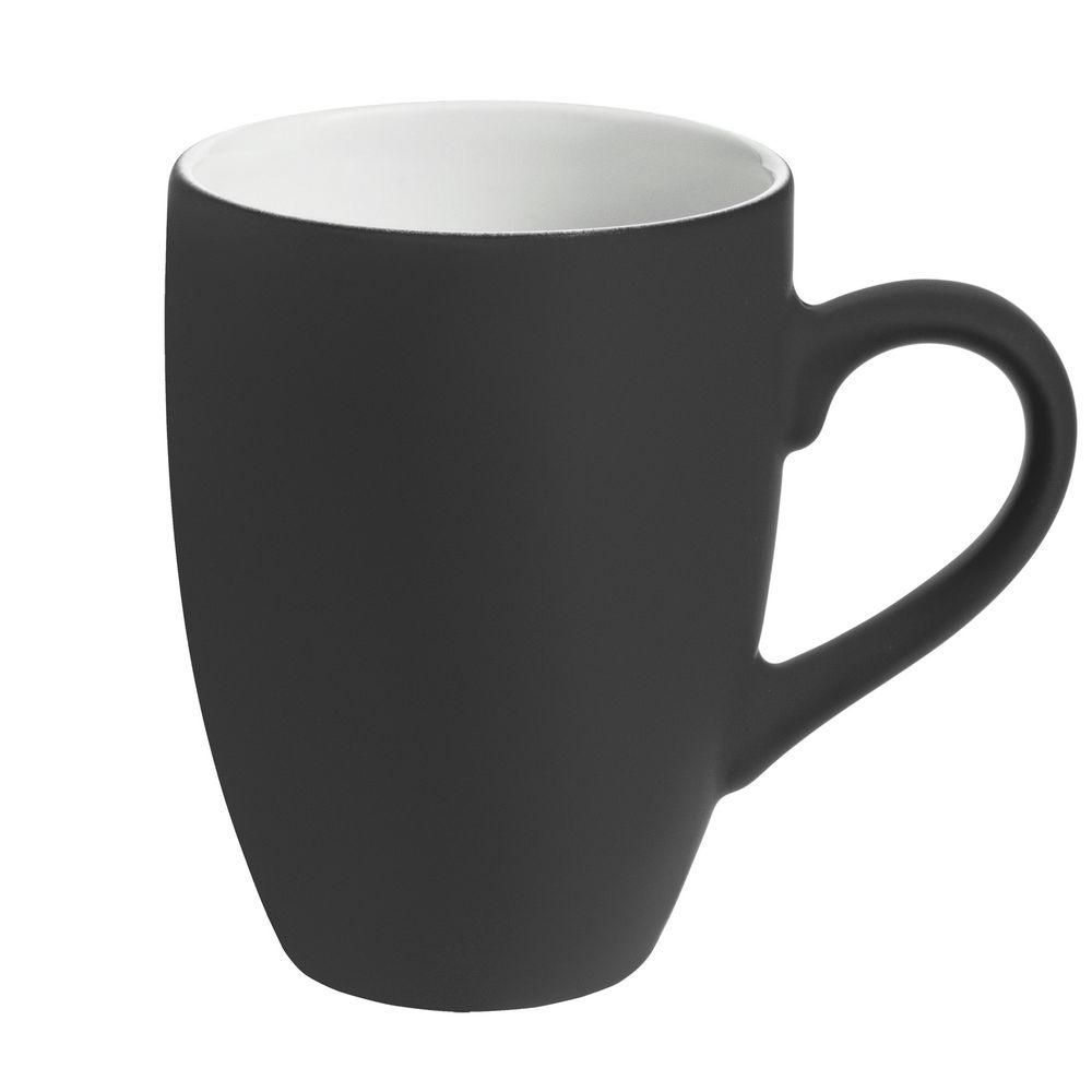 Кружка Best Morning с покрытием софт-тач, серая