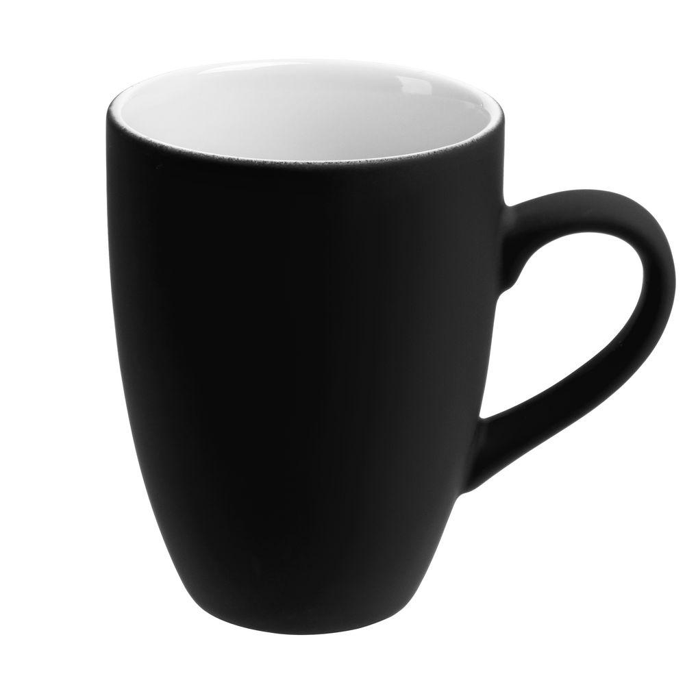 Кружка Best Morning c покрытием софт-тач, черная