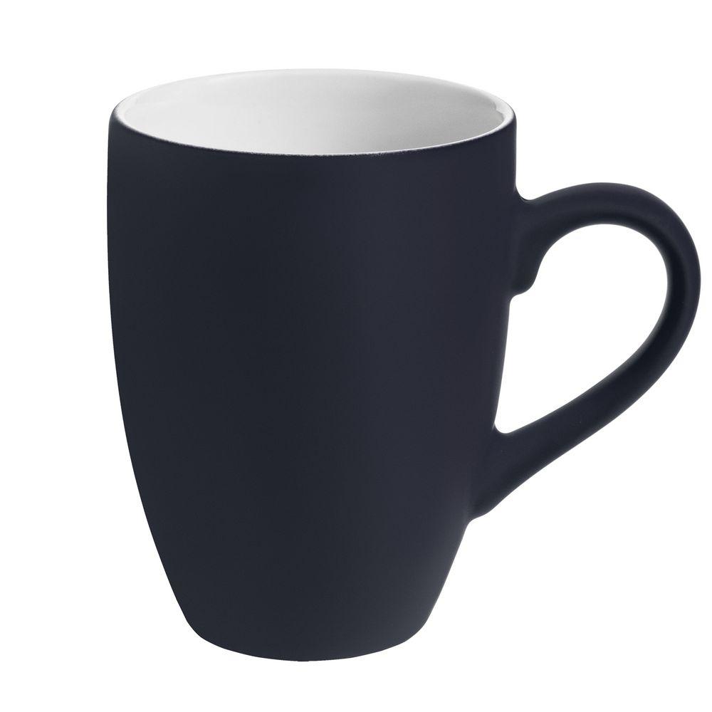 Кружка Best Morning c покрытием софт-тач, темно-синяя