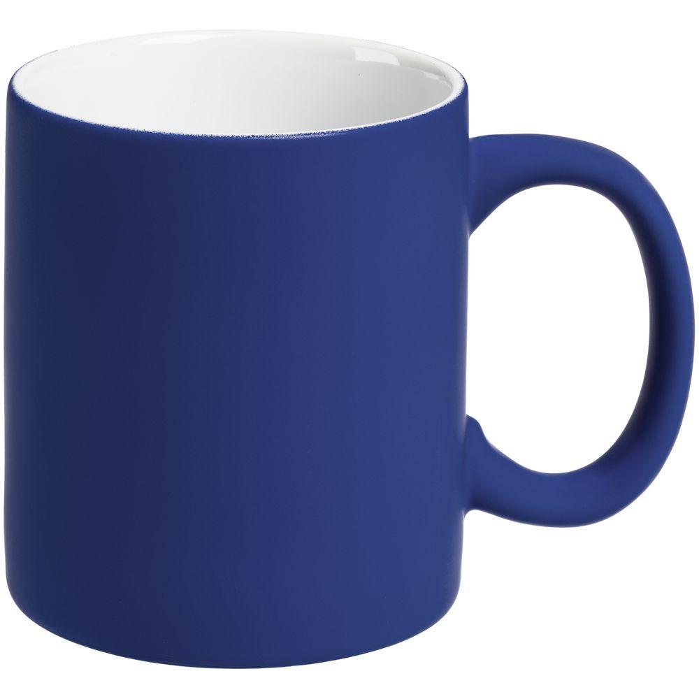 Кружка Sippy c покрытием софт-тач, синяя