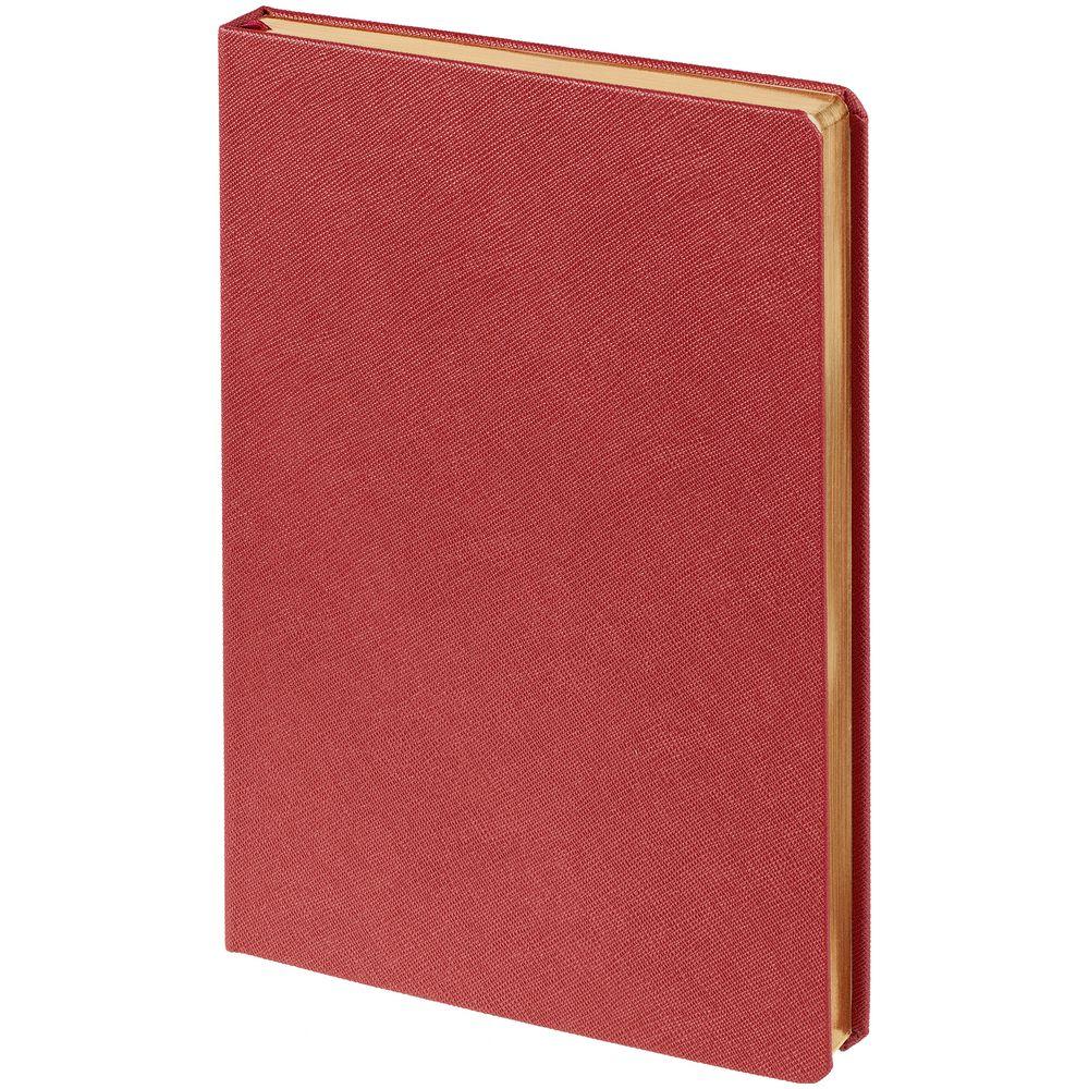 Ежедневник Saffian, недатированный, красный