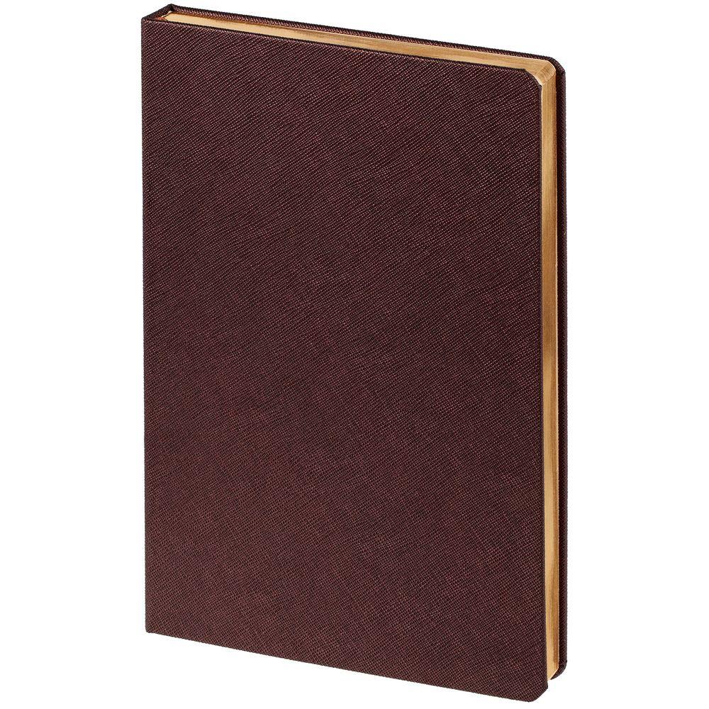 Ежедневник Saffian, недатированный, коричневый
