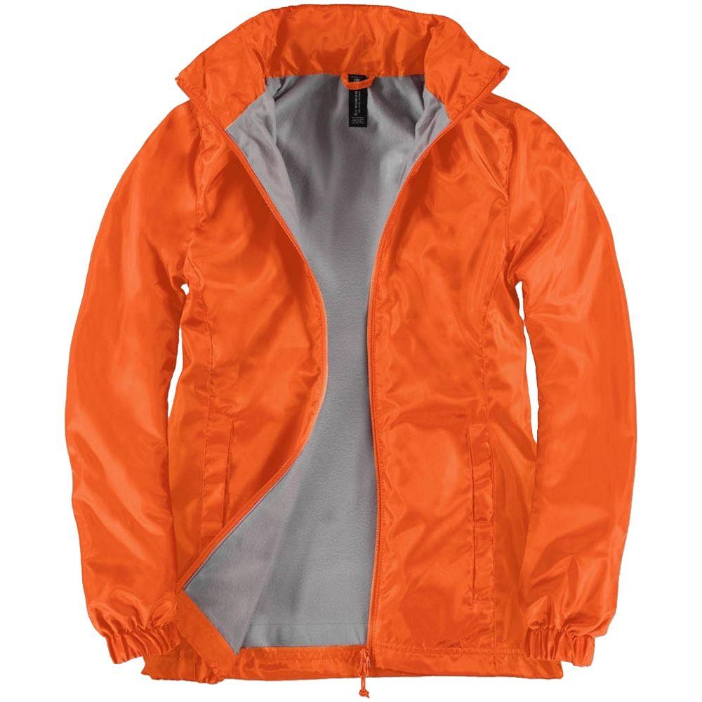 Ветровка женская ID.601, оранжевая